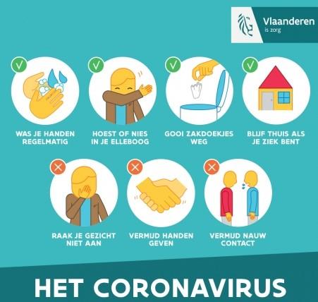 Coronavirus (Covid-19)   Klim- en Bergsportfederatie