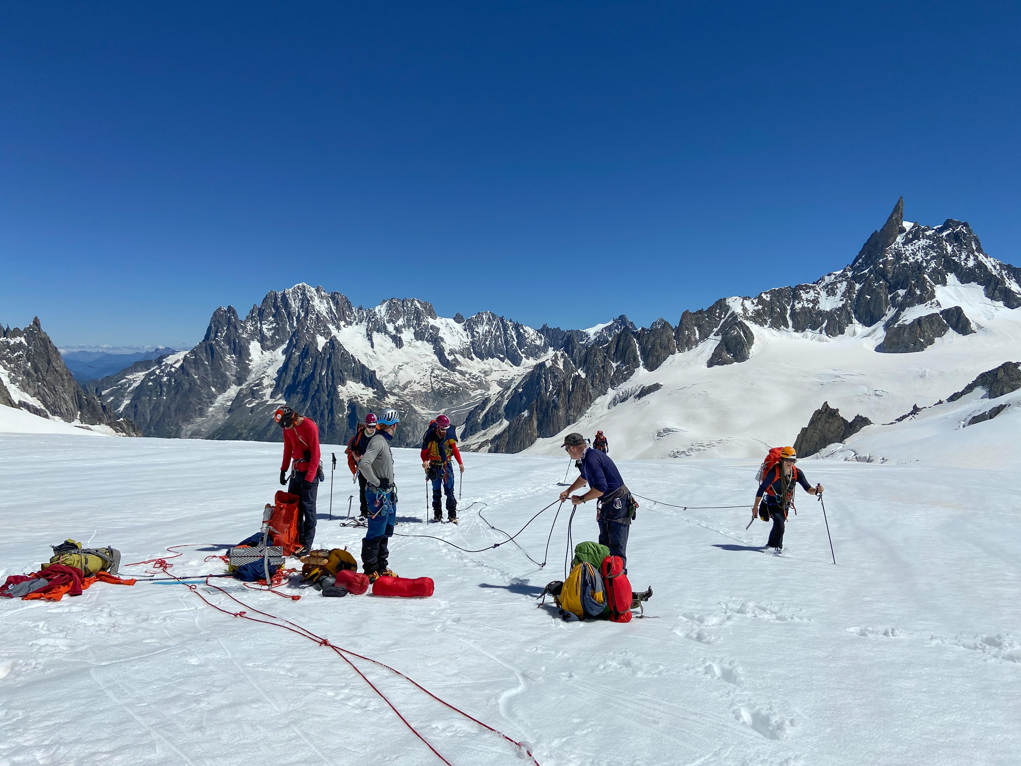 Mount Coach: in hoge sferen spaltenberging