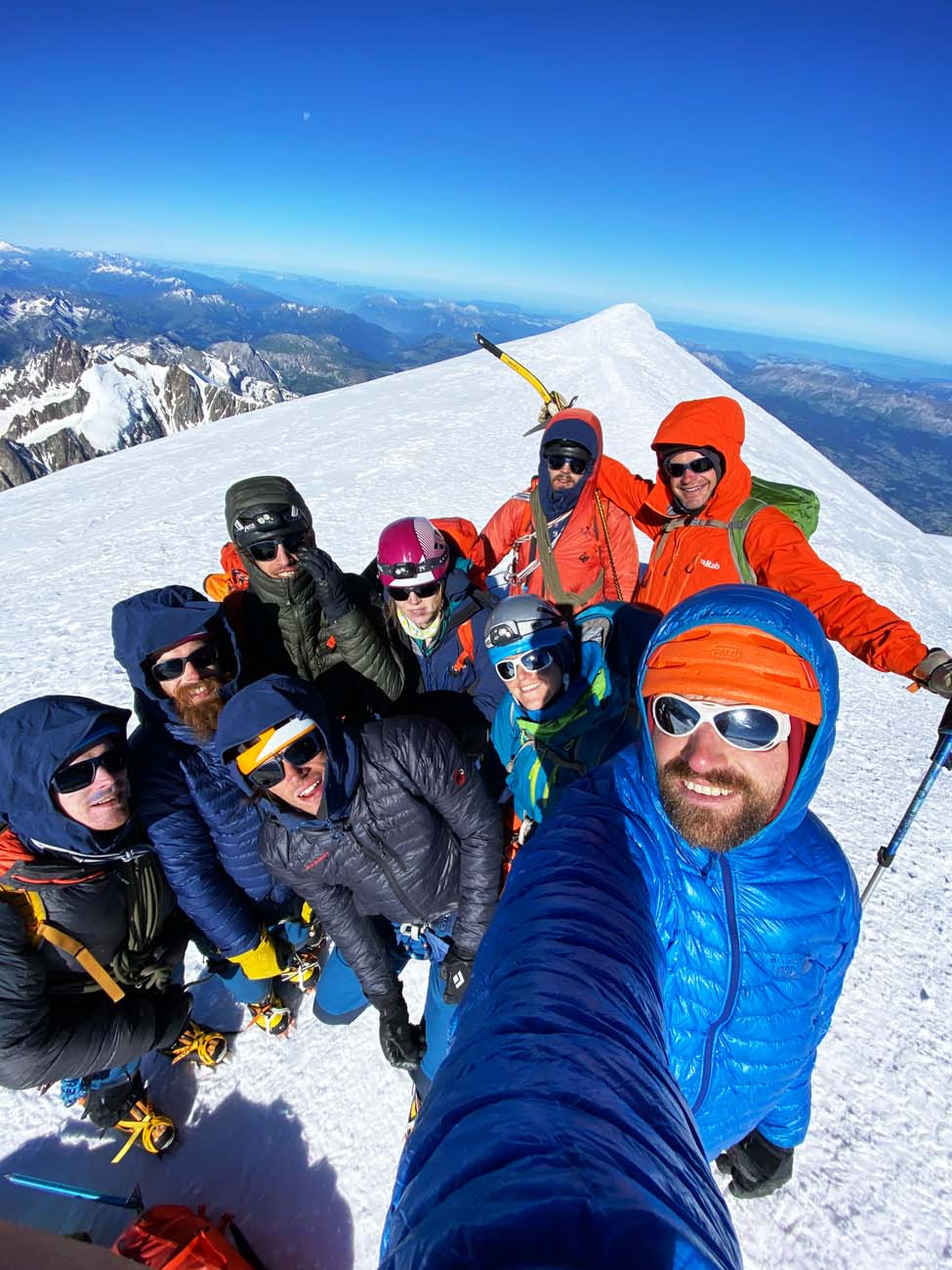 Mount Coach in hoge sferen foto op de top